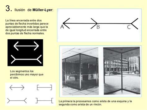 ilusiones opticas muller lyer reducida percepcion visual ilusiones opticas