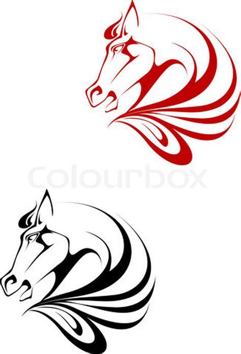 tribal horse head tattoo designs tattoos book 65 000