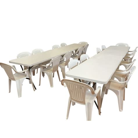 trestle table and bench hire 4 adult trestle tables and 20 chairs