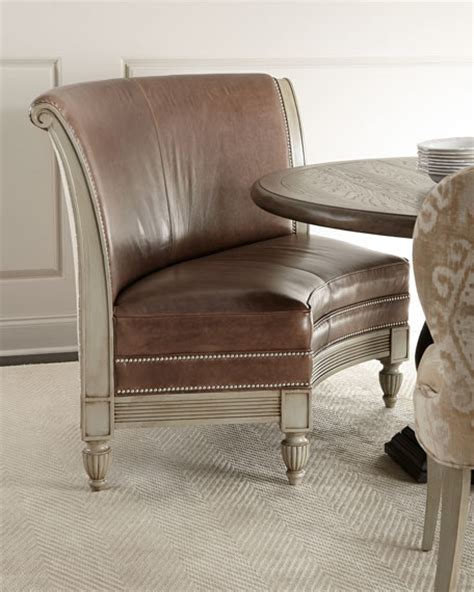 banquette sale bernhardt alynda banquette porcelain dining chair