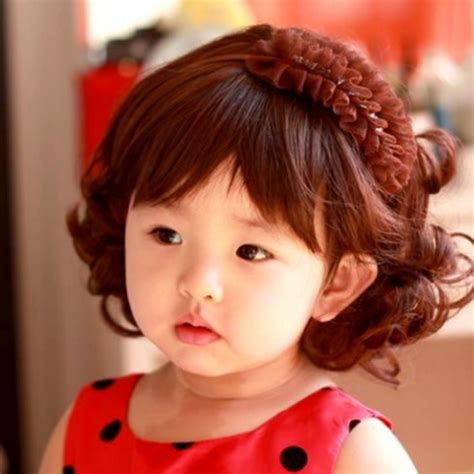 hairstyles for girl child kid baby wigs infant child hair wigs wavy curly hair