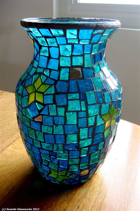 Mosaic Vase by Top 10 Mosaic Flower Vases Ideas Mozaico