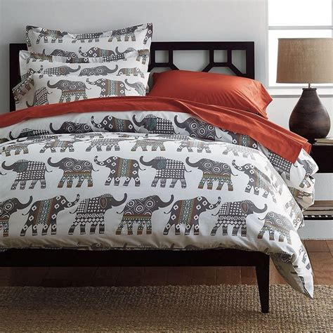 elephant bedding elephant caravan percale sheets bedding set the