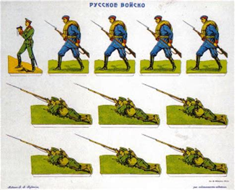 How To Make Paper Soldiers - boots in russian paper soldiers
