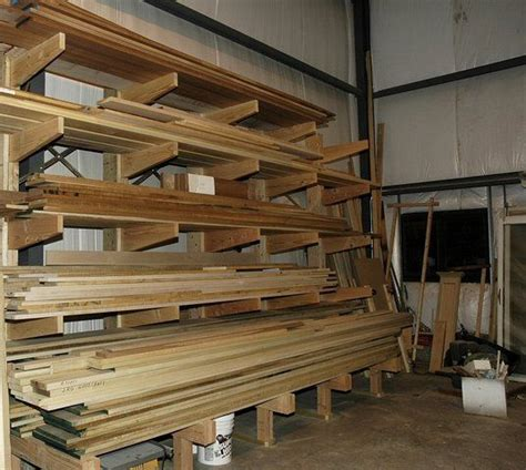 Lumber Racks For by Plywood And Lumber Rack Ideas