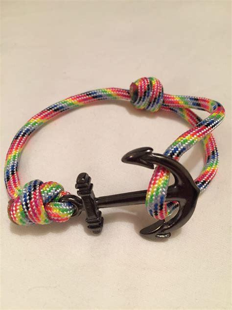 Murah 9 Strips Bracelet Trendy Pastel Colors anchor bracelet light darcizzle offshore