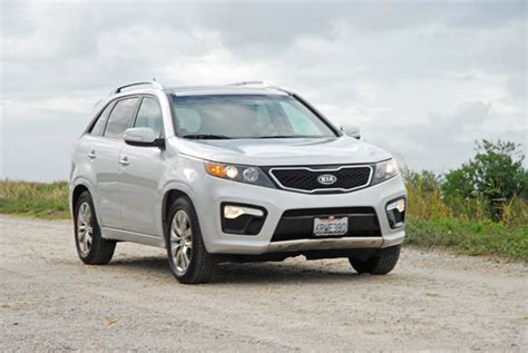 2012 Kia Sorento Safety Rating 2012 Kia Sorento Sx V6 Review Test Drive