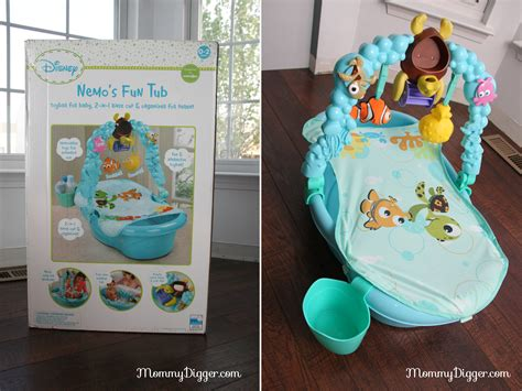 finding nemo baby bathtub disney baby finding nemo fun tub review mommy digger