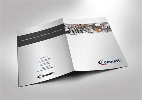 company folder template 9 best images about folder on behance