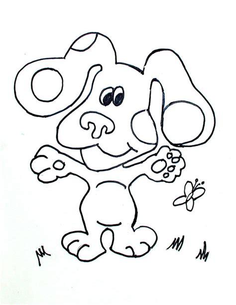 blues clues coloring pages coloringpagesabc com
