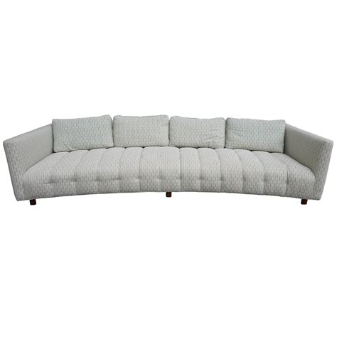 low seating sofa magnificent erwin lambeth low curved four seat sofa mid century modern for sale at 1stdibs