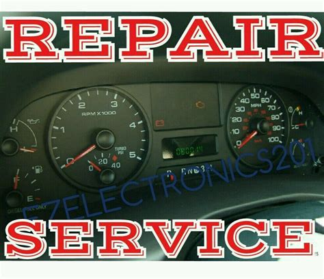 manual repair free 2007 ford f350 instrument cluster 2005 2006 2007 f250 f350 f450 f550 speedometer instrument cluster repair ebay