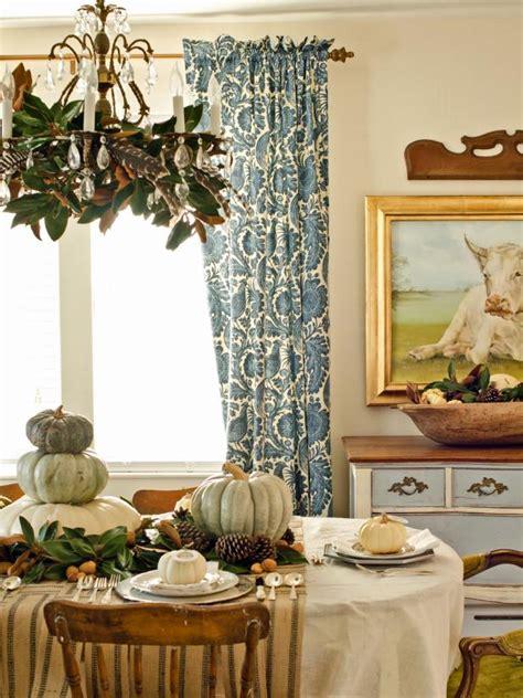 a thanksgiving dining room makeover hgtv 13 rustic thanksgiving table setting ideas hgtv