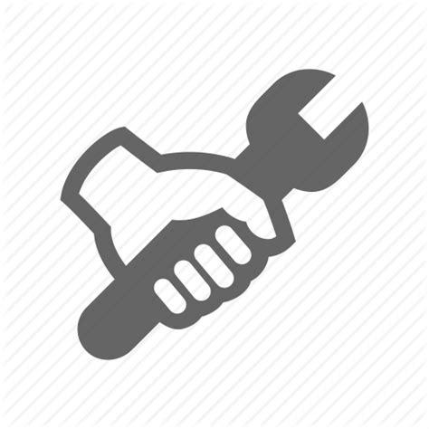 repair icon fix hand rebuild reconstruct rehabilitate repair