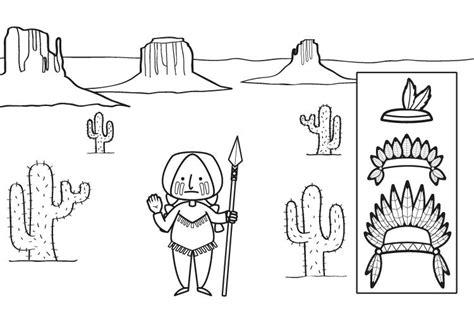 imagenes de penachos aztecas para colorear imprimir indio con plumas dibujo para colorear e imprimir