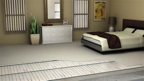Electric floor heating for your Bedroom