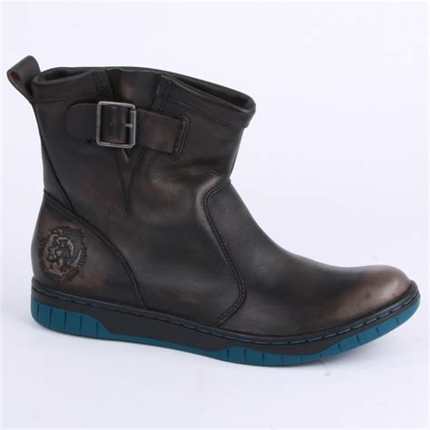 biker boots men diesel bikerino mens biker boots in black