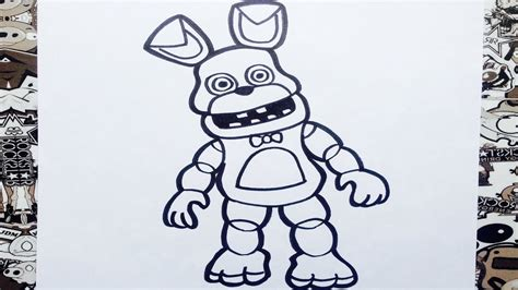 five nights at freddy s coloring book great coloring pages for and adults unofficial edition books como dibujar a bonnie de fnaf adventure how to draw