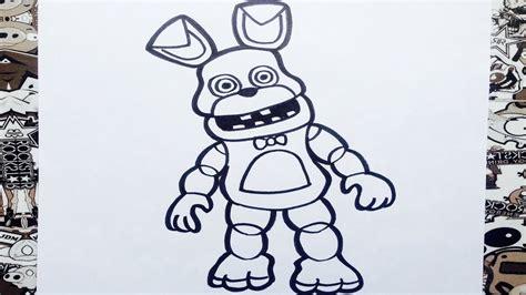 imagenes de fnaf kawaii para dibujar como dibujar a bonnie de fnaf adventure how to draw
