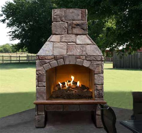 outside corner fireplace outdoor brick fireplace