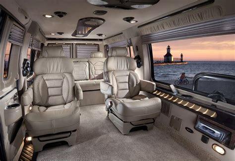 luxury minivan interior luxury conversion limo shuttle hightop interior
