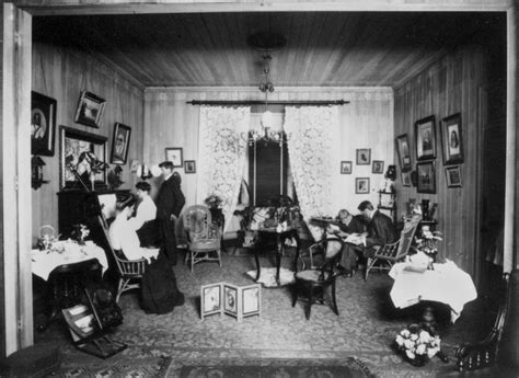 Living Room History File Statelibqld 1 137867 Living Room Of The Poulsen