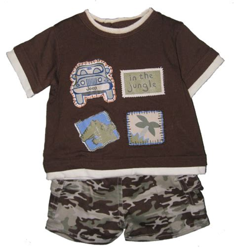 All things jeep jeep baby clothes brown tee camo shorts