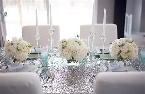 white table decoration ideas 32 original winter table d 233 cor ideas digsdigs