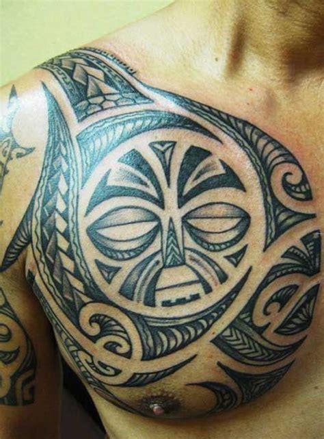 polynesian tattoo inspiration the best ideas of chest tattoo for men best chest tattoo