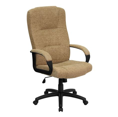 High Back Fabric Office Chair by High Back Beige Fabric Executive Office Chair Bt 9022 Bge Gg