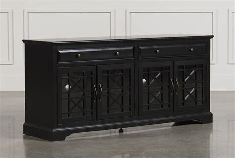 The Bedroom Store Locations annabelle black 70 inch tv console living spaces