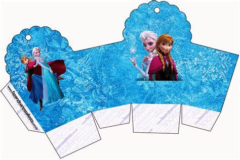 frozen azul  purpura cajas  imprimir gratis ideas