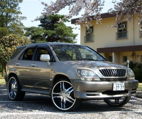 lifted lexus rx300 rx lexus rx tuning suv tuning