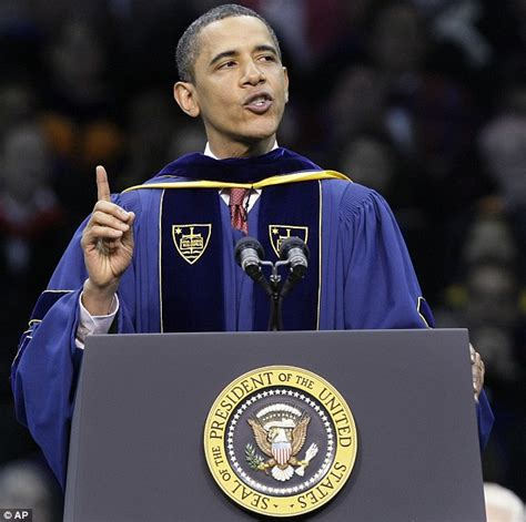 Notre Dame Mba Notable Alumni by Barack Obama Heckled And Interrupted By Anti Abortionists