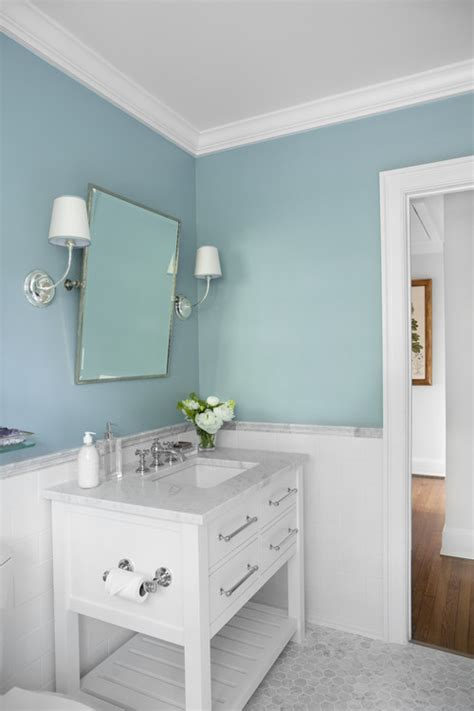 blue bathroom paint colors the granite gurus whiteout wednesday 5 white bathrooms