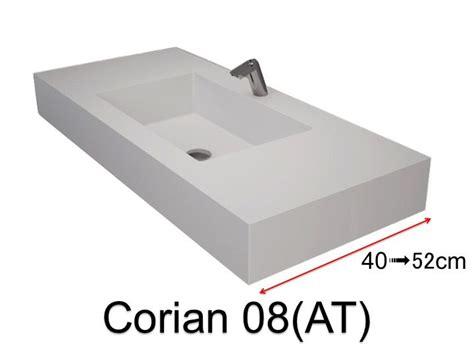corian zusammensetzung waschbecken largeur 60 corian waschbecken 60 x 40 cm