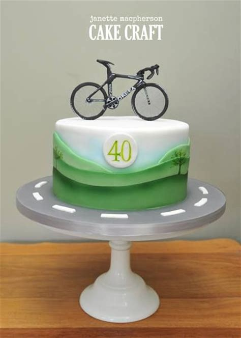 Cake Decoration Bicycle by Bike Birthday Cake For All Your Cake Decorating Supplies