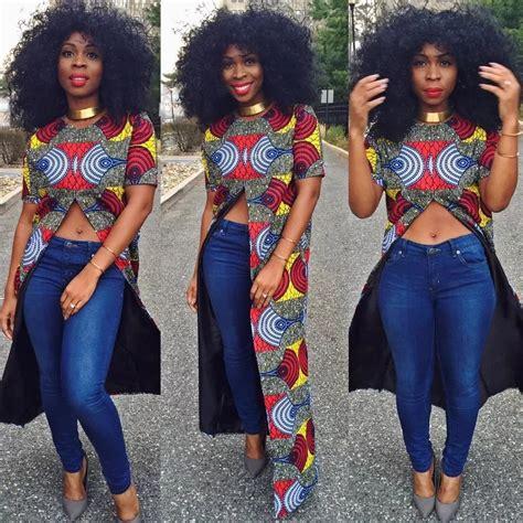 naija female ankara jackets ankara blouses on jeans best designs 2017 2018 naija ng