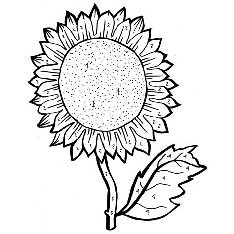 sunflower coloring pages sunflowers free coloring pages