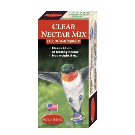 woodlink clear hummingbird nectar 8 oz pricefalls com