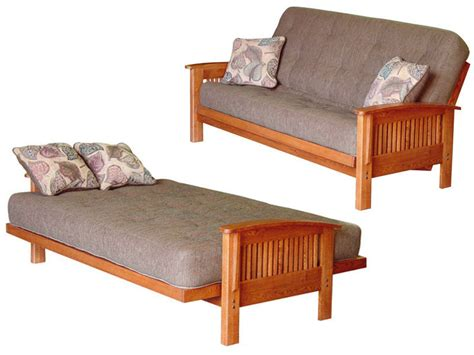 Futon Bed Settee Futons Vs Sofa Sleepers The Real Story