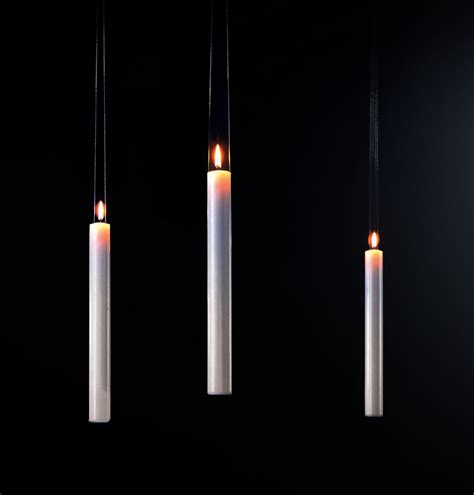 Hanging Candle L by Fly Candle Fly Candle Hanging Candle White By Ingo Maurer
