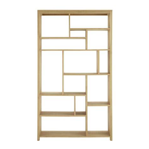 Oak Shelf Unit by Solid Oak Shelf Unit W 112cm Danube Maisons Du Monde