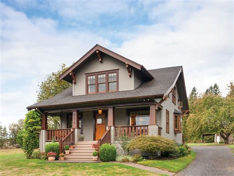Craftsman Houses by Restored Craftsman House Simplified Restoration Design