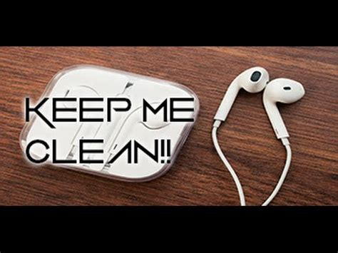 How Do I Clean A by How To Clean Apple Earphones