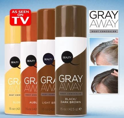 gray away root concealer gray away hair dye as seen on 90 best beauty images on pinterest beauty products