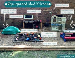 Kitchen Area Design Repurposed Mud Kitchen This Pilgrim Life