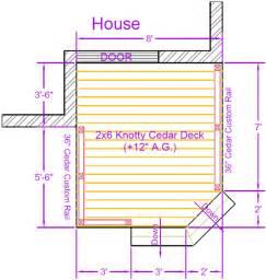 Wrap Around Deck Designs deck plan contents diy deck plans