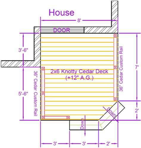 deck house plans deck plan contents diy deck plans