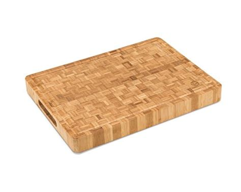 rubber st board large end grain bamboo cutting board professional